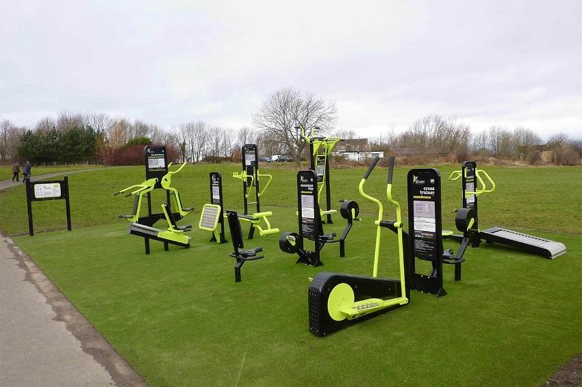Dış Mekan Fitness Spor Aletleri